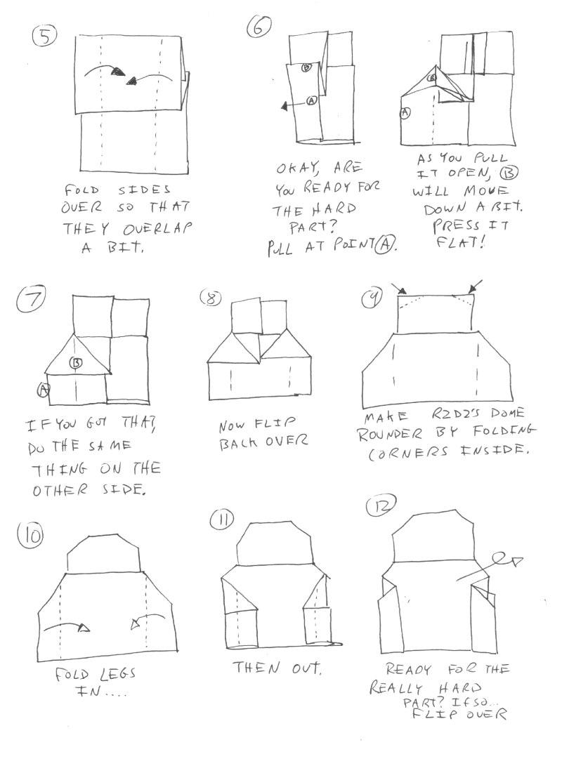 Cover Yoda instructions   Origami Yoda   1101x800